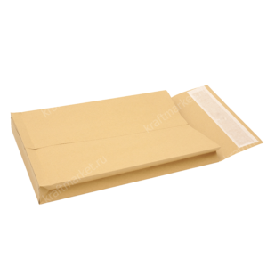Крафт конверты с расширением