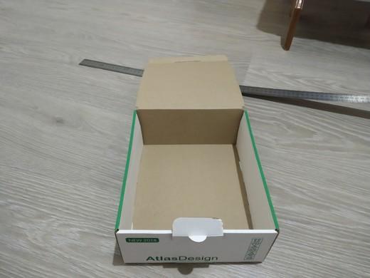 Самосборная коробка из микрогофры.