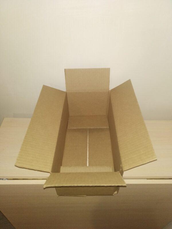 Гофрокороб четырехклапанный 370х185х145мм.
