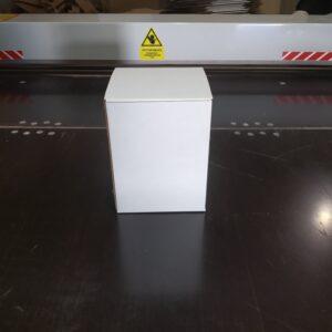 Самосборная коробка 125*125*165мм бел.